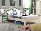 精选优质实木 结构坚固现代时尚 1.2米儿童床