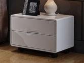 簡約時尚 經典百搭白色現代風格床頭柜
