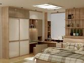 优质实木板材 简约大气现代风格定制衣柜