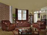耐磨头层黄牛皮 全实木框架 纯手工铆钉包边  环抱式U型靠背 双层独立加厚坐包 美式沙发组合(1+2+3)
