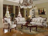 [玛龙城堡] 美式风格 人气沙发 精工雕琢 精美曲线 雪尼尔布实木框架沙发(1+2+3)