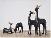 【包郵】金角小鹿樹脂電視柜擺件 北歐現代簡約 創意動物擺件?(四個)