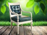 進口優質樺木  美式風格 實木高檔書桌椅 辦公椅