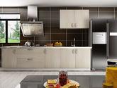 现代简约风格 时尚雅致 易清洁石英石台面 定制橱柜