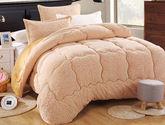 包郵 夢巢家紡  羊羔絨冬被 加厚冬被 被子 被芯 保暖春秋被子2x2.3米 7斤