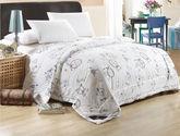 包郵 夢巢家紡 全棉印花夏被 空調被 夏涼被 2x2.3米