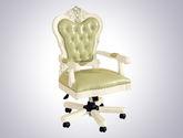精選優質頭層牛皮 舒適柔軟 高端大氣 法式書椅大班椅