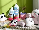 【Mlily夢百合】萌娃抱枕 毛絨玩具抱枕