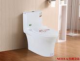 樂鵬NORKA衛浴4D超漩虹吸式座便器小戶型衛生間一體式馬桶8227