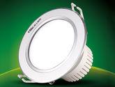 超薄嵌入式砂銀面環LED筒燈