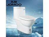 JOMOO九牧虹吸式抽水馬桶節水防臭小戶型家用普通陶瓷坐便器11217-1