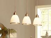 餐廳吊燈全銅餐吊燈飾美式鄉村客廳飯廳三頭簡約燈具