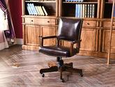 高檔耐磨頭層真皮軟包 結構堅固 北美進口紅橡木 低調奢華美式書椅