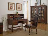 藝美伯格 美式鄉村 美國進口紅橡框架 實木多層板 書椅