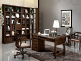 精選優質實木 結構堅固 古樸大氣中式書椅轉椅