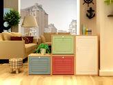 恩嘉依 現代風格  時尚簡約 雙色接拼設計 E1級MDF板材 魔方翻斗小鞋柜